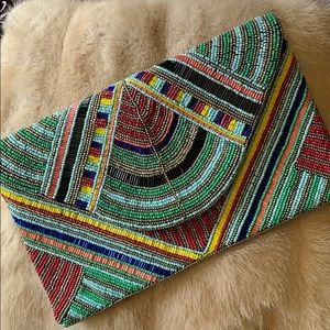 Handbags - Gorgeous beaded clutch